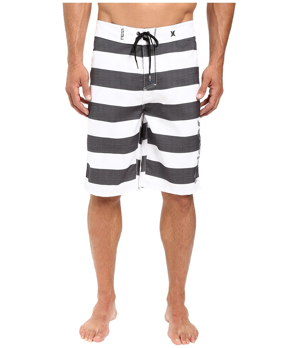 Hurley - O'Braddah 22 Boardshorts (White) Men's Swimwear