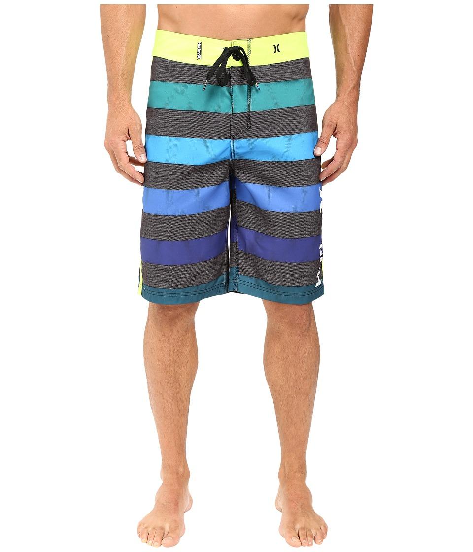 Hurley - O'Braddah 22 Boardshorts (Rio Teal) Men's Swimwear