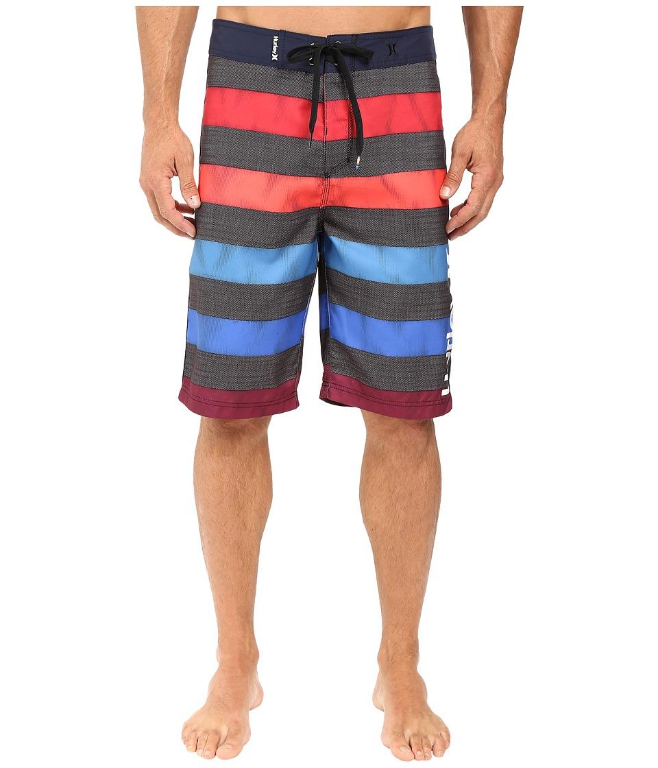 Hurley - O'Braddah 22 Boardshorts (Obsidian) Men's Swimwear
