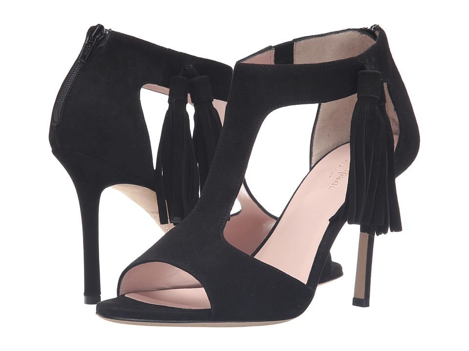 Kate Spade New York - Inga (Black Kid Suede) Women's Shoes