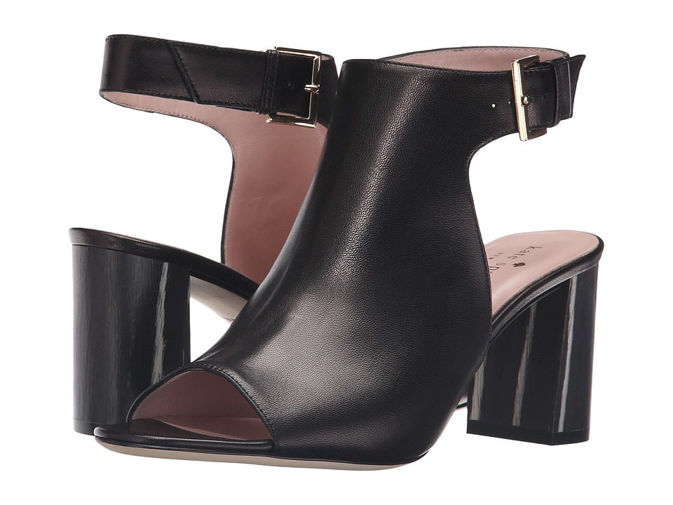 Kate Spade New York - Emina (Black Nappa) Women's Dress Sandals