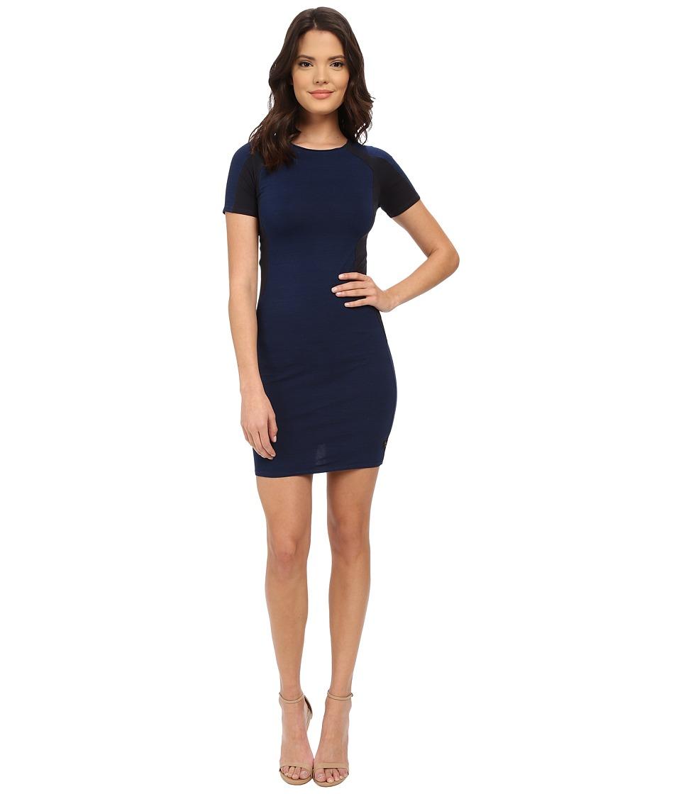 G-Star - Raglan Slim Dress in Ultimate Stretch (Indigo) Women's Dress