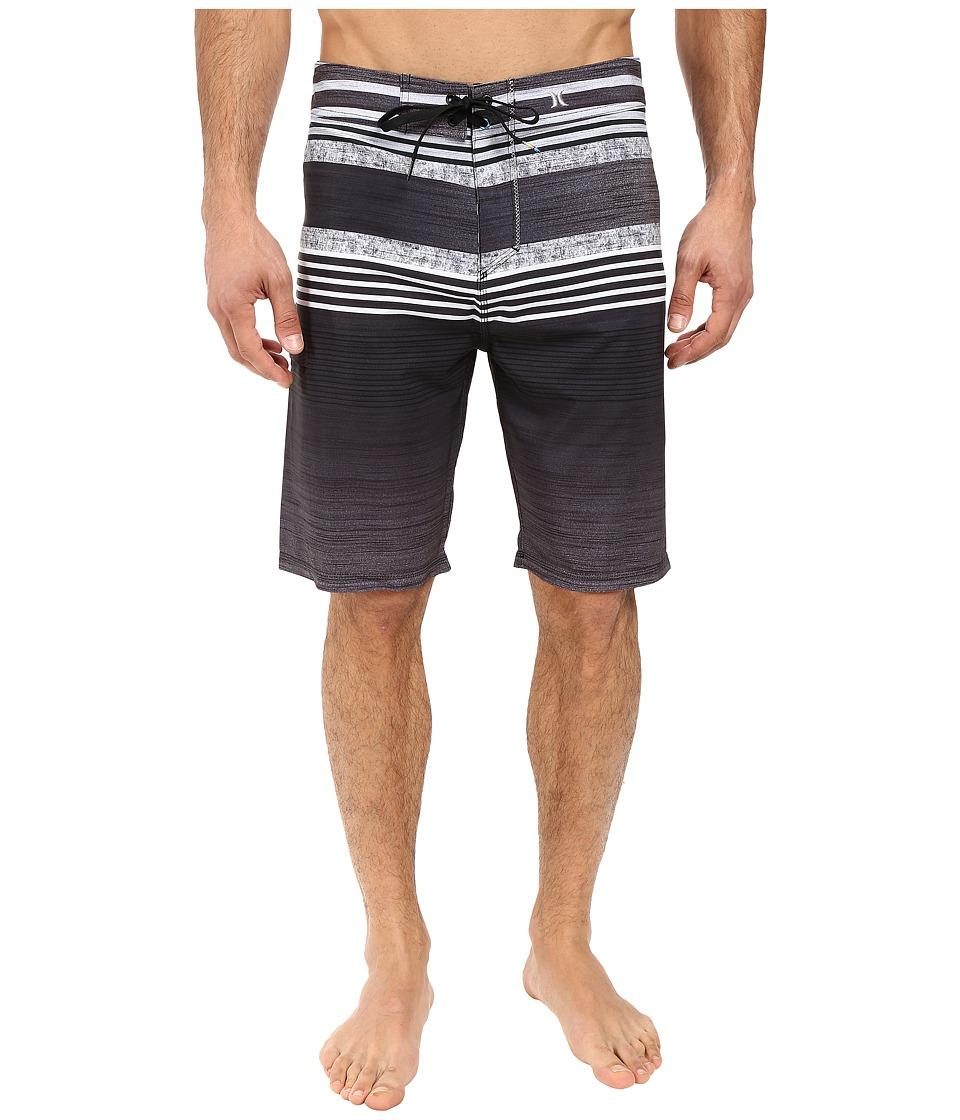 Hurley - Phantom Ortega 21 Boardshorts (Black) Men's Swimwear