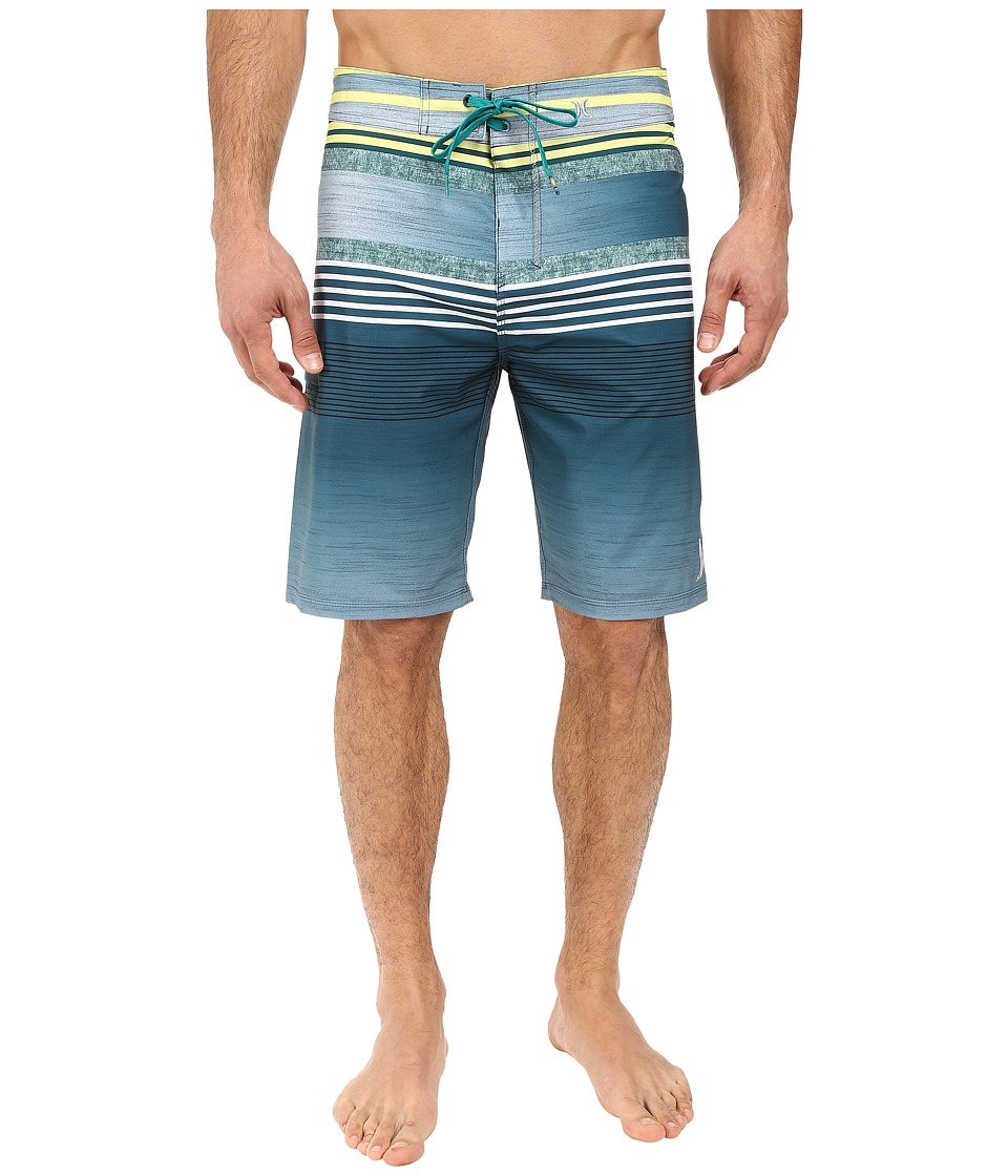 Hurley - Phantom Ortega 21 Boardshorts (Rio Teal) Men's Swimwear