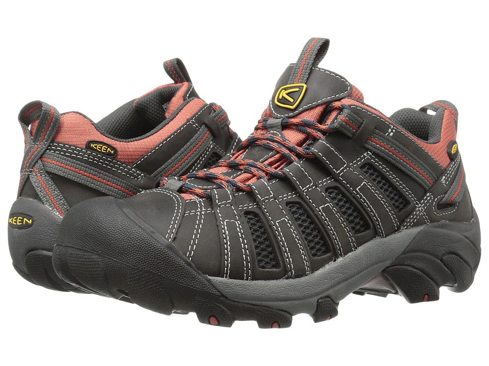 Keen - Voyageur (Magnet/Orange Ochre) Men's Shoes