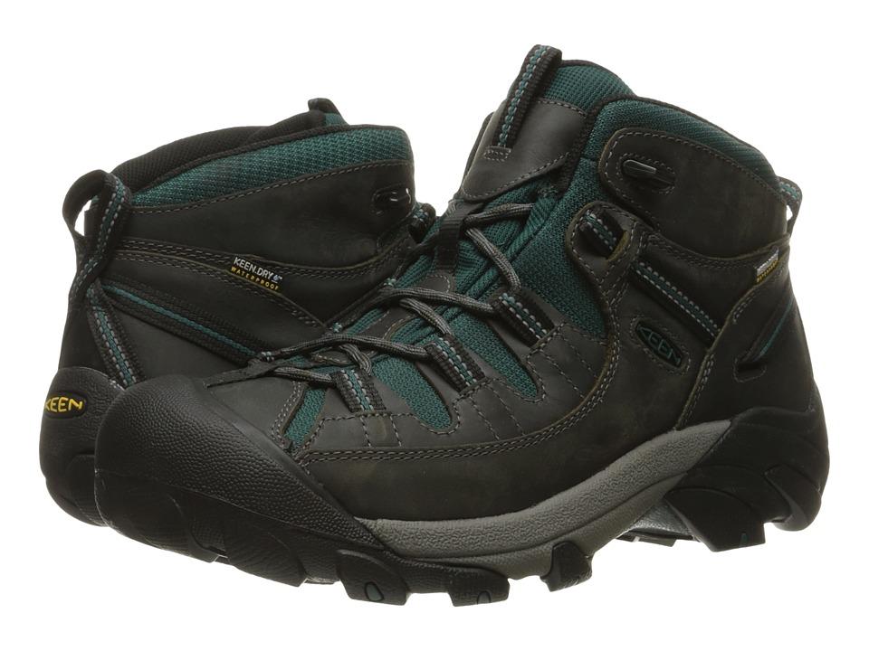 Keen - Targhee II Mid Waterproof (Beluga/Junebug) Men's Waterproof Boots