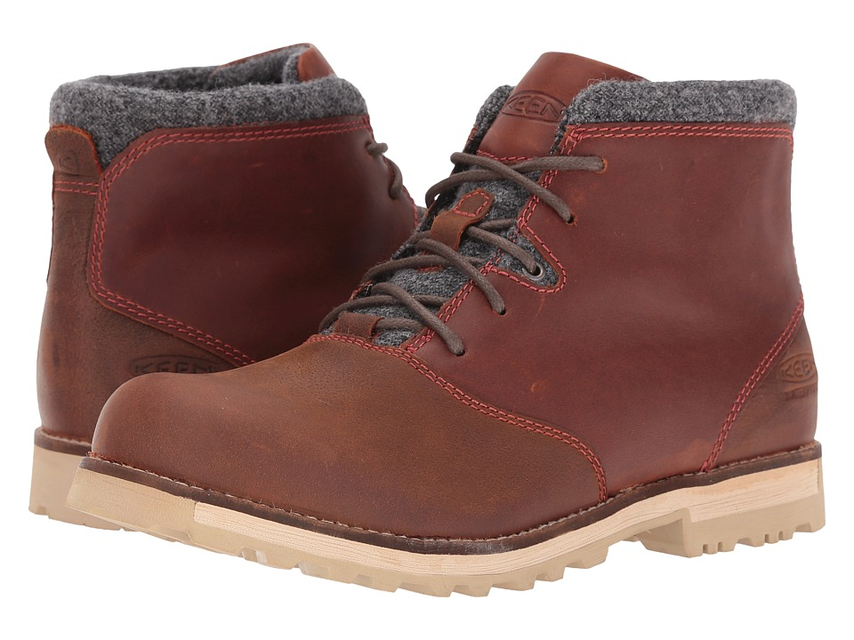 Keen - The Slater Waterproof (Barley) Men's Waterproof Boots