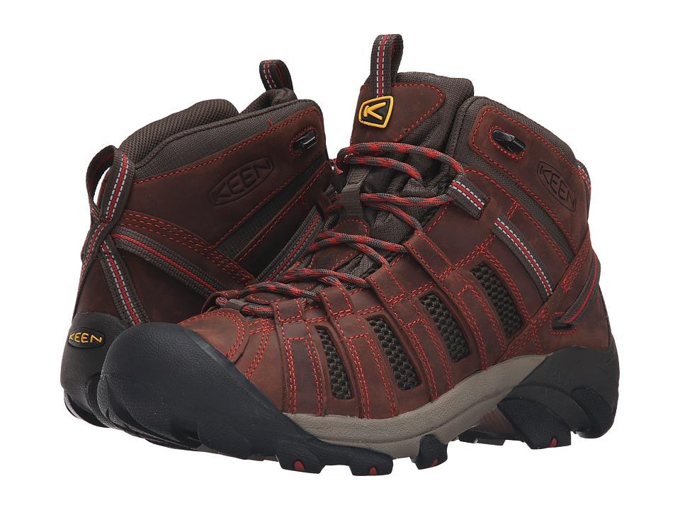 Keen - Voyageur Mid (Barley/Bossa Nova) Men's Hiking Boots
