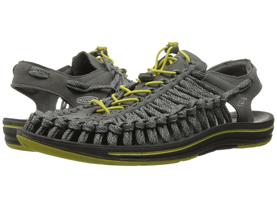 Keen - Uneek Flat (Gargoyle/Warm Olive) Men's Shoes