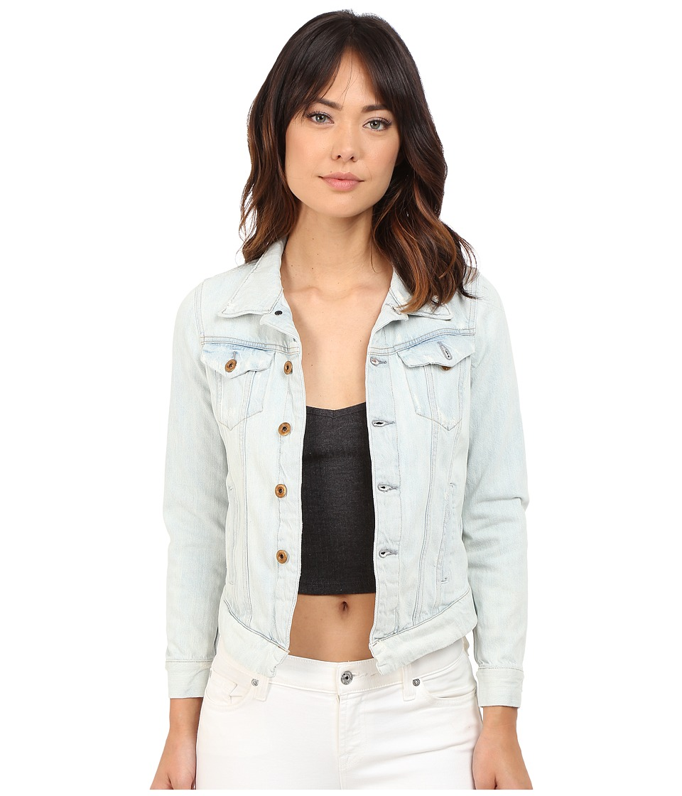 G-Star - 3301 Denim Jacket in Scatter Denim (Light Aged Restored 72) Women's Coat
