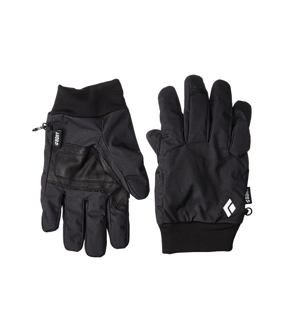 Black Diamond - LightWeight Waterproof Gloves (Black) Outdoor Sports Equipment