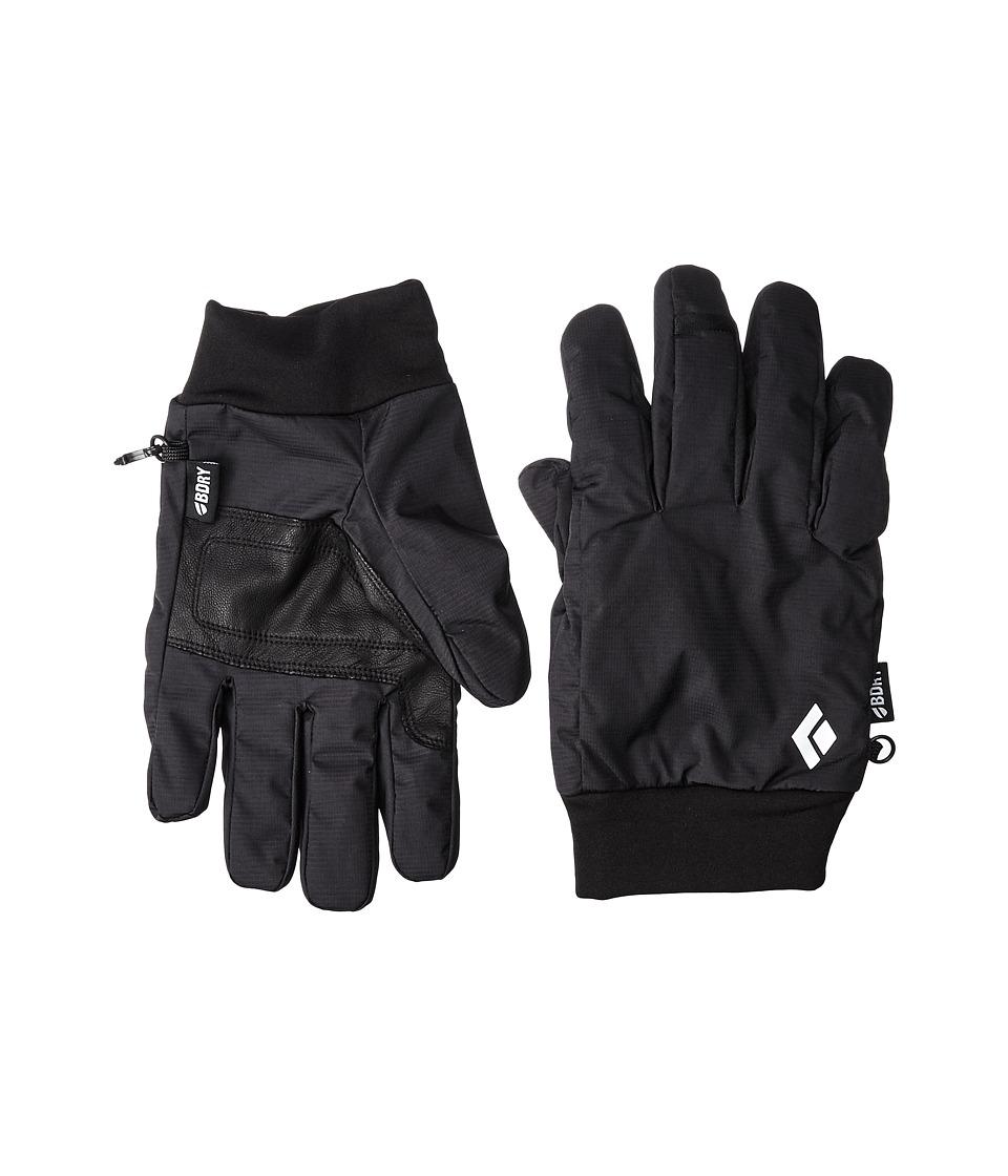 Black Diamond - LightWeight Waterproof Gloves (Black) Outdoor Sports Equipment