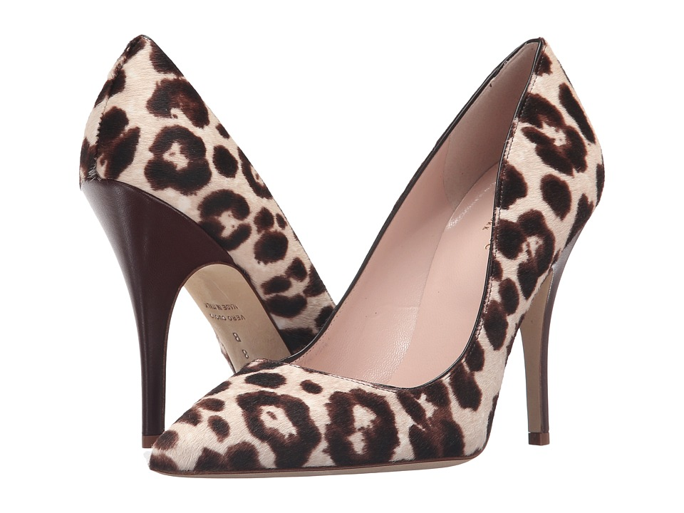 Kate Spade New York - Licorice (Blush/Brown Leopard Haircalf Print) High Heels