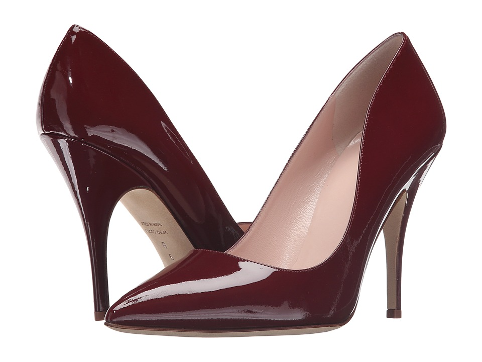 Kate Spade New York - Licorice (Red Chestnut Patent) High Heels