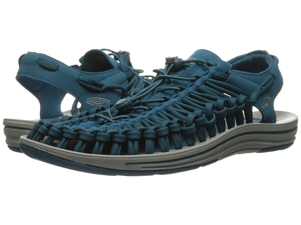 Keen - Uneek Flat (Ink Blue/Neutral Gray) Men's Shoes