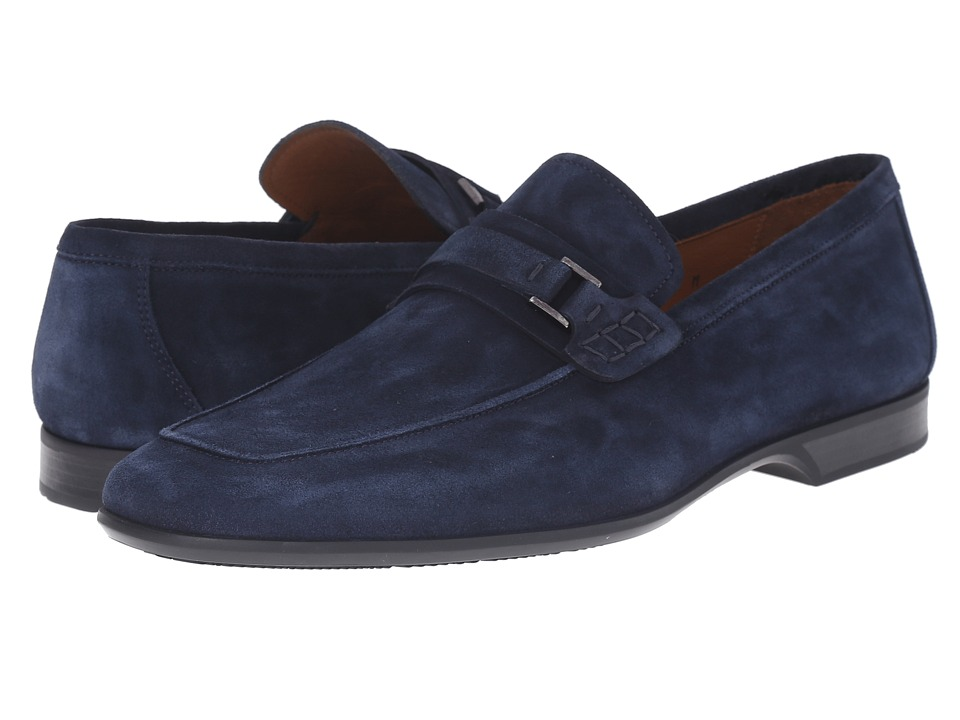 Magnanni - Ronin (Blue) Men's Slip on Shoes