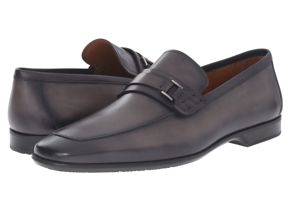 Magnanni - Ronin (Grey) Men's Slip on Shoes