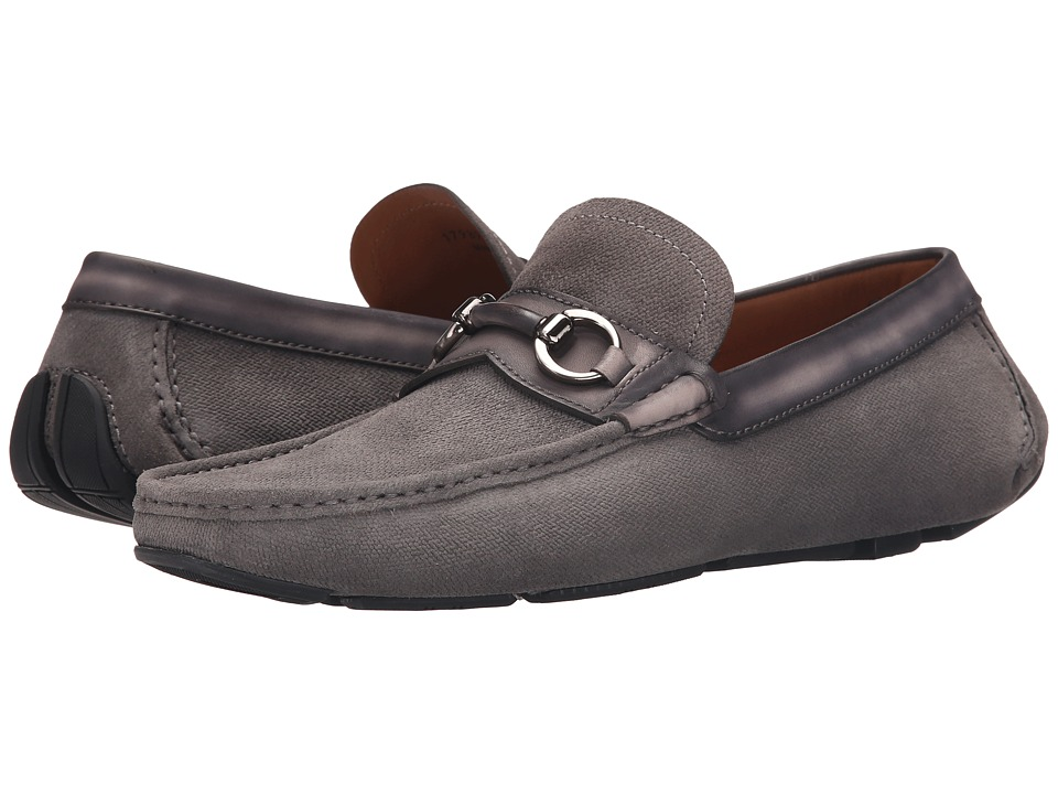 Magnanni - Ringo (Grey) Men's Slip on Shoes