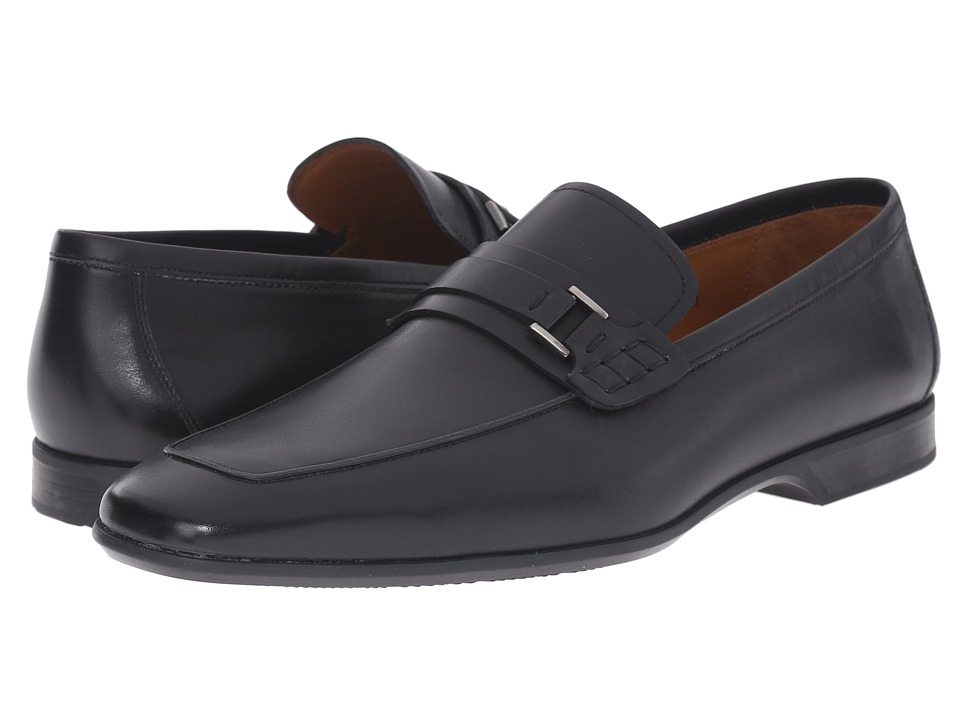 Magnanni - Ronin (Black) Men's Slip on Shoes