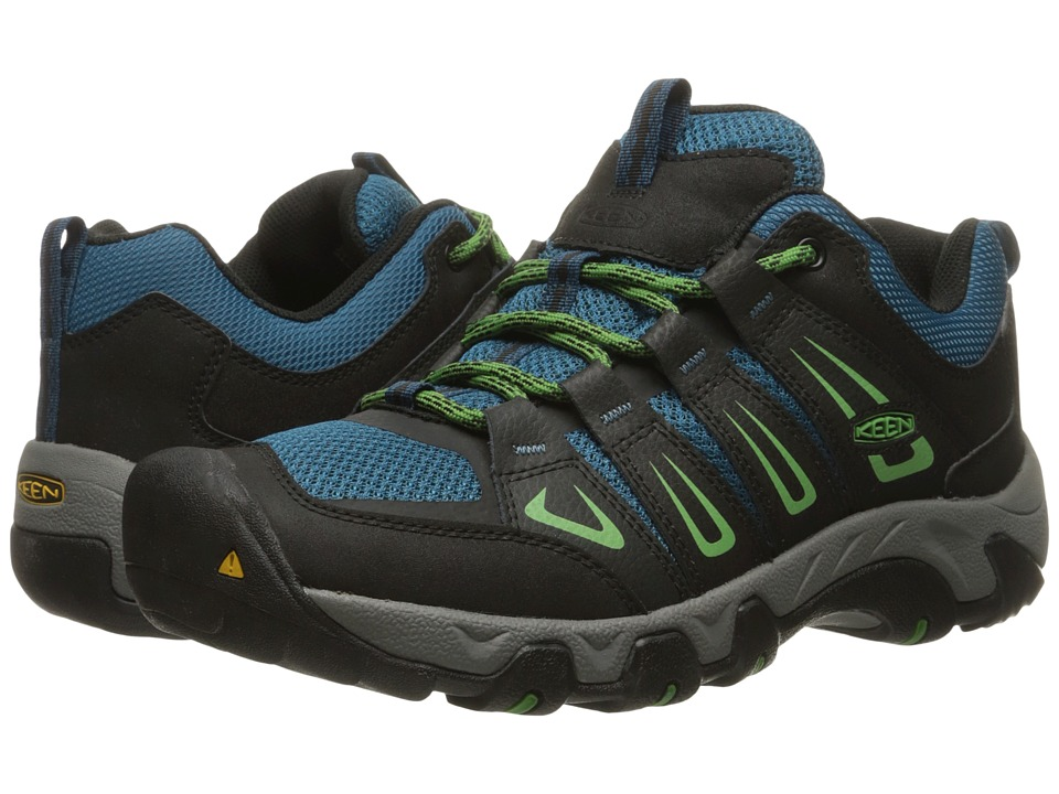 Keen - Oakridge (Raven/Ink Blue) Men's Shoes
