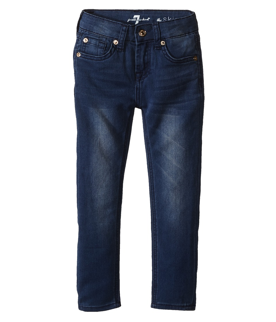 7 For All Mankind Kids - The Skinny Five-Pocket Denim Jeans in Medium Heritage (Little Kids) (Medium Heritage) Girl