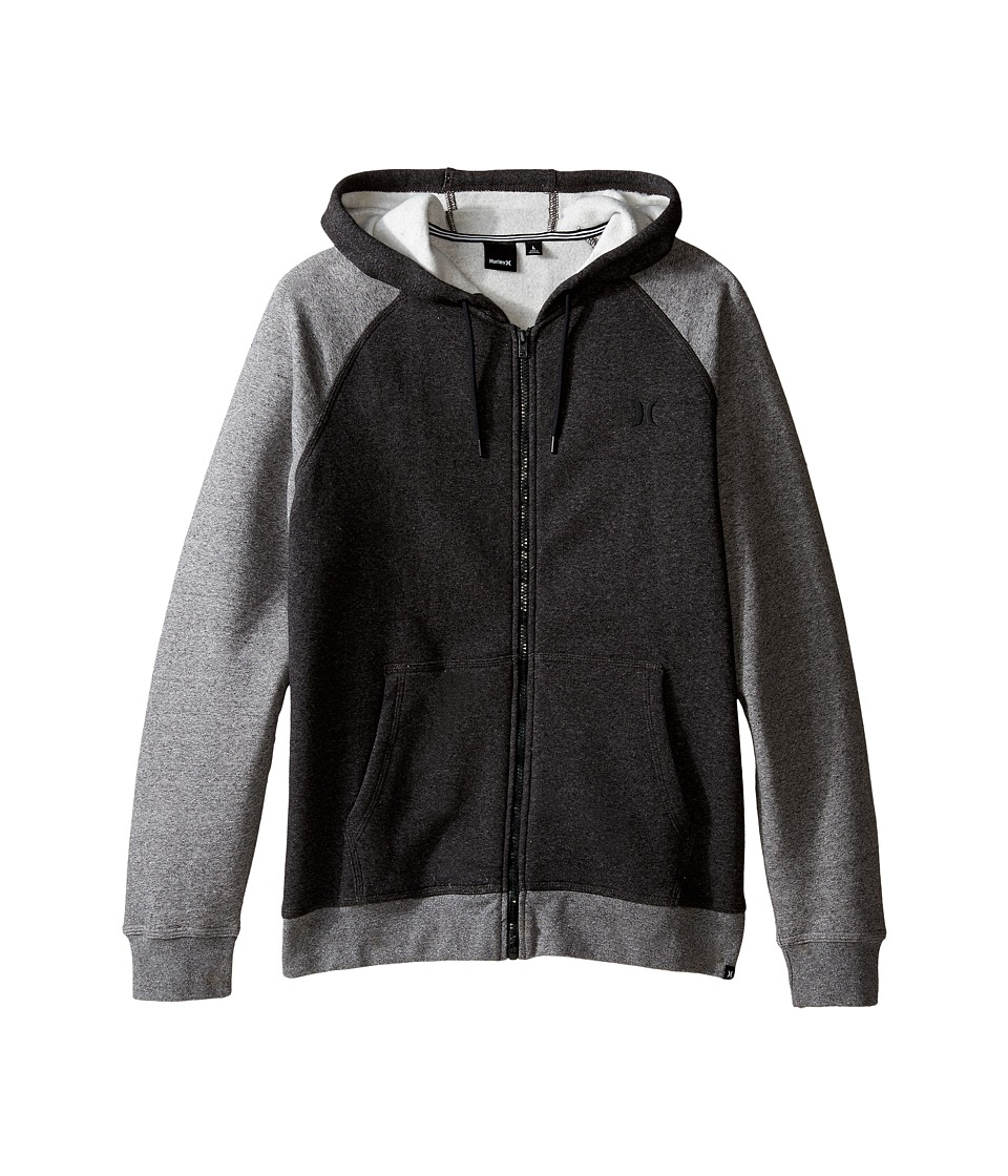 Hurley - Getaway 2.0 Zip Hoodie (Black) Men's Sweatshirt