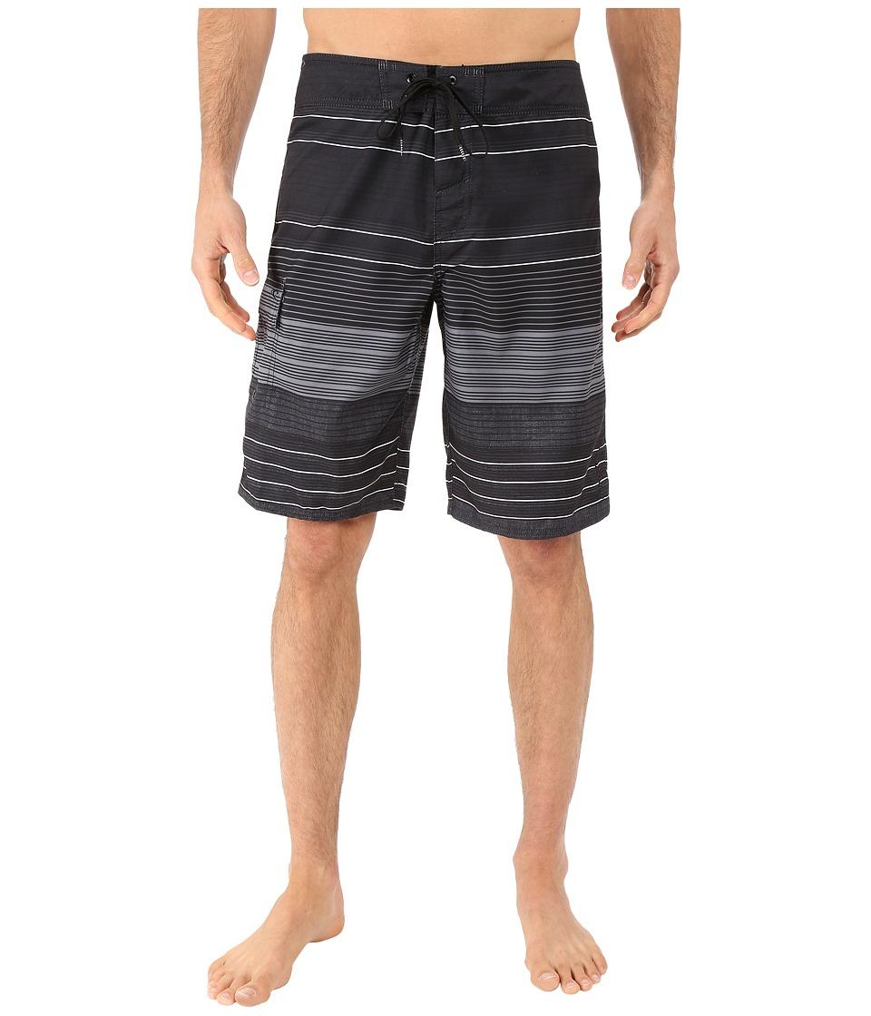 O'Neill - Halfmoon (Black Stripe) Men's Swimwear