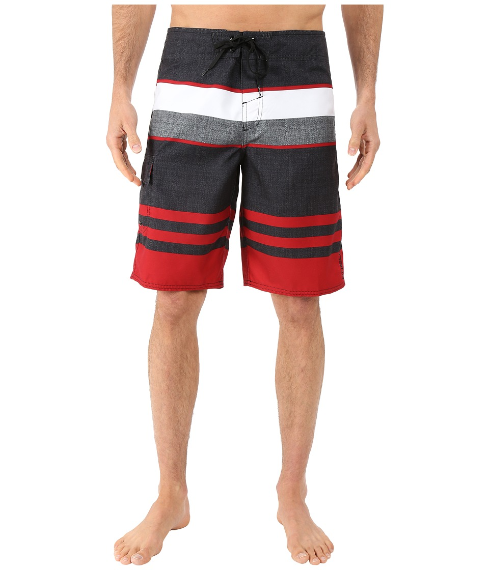 O'Neill - Halfmoon (Deep Red) Men's Swimwear