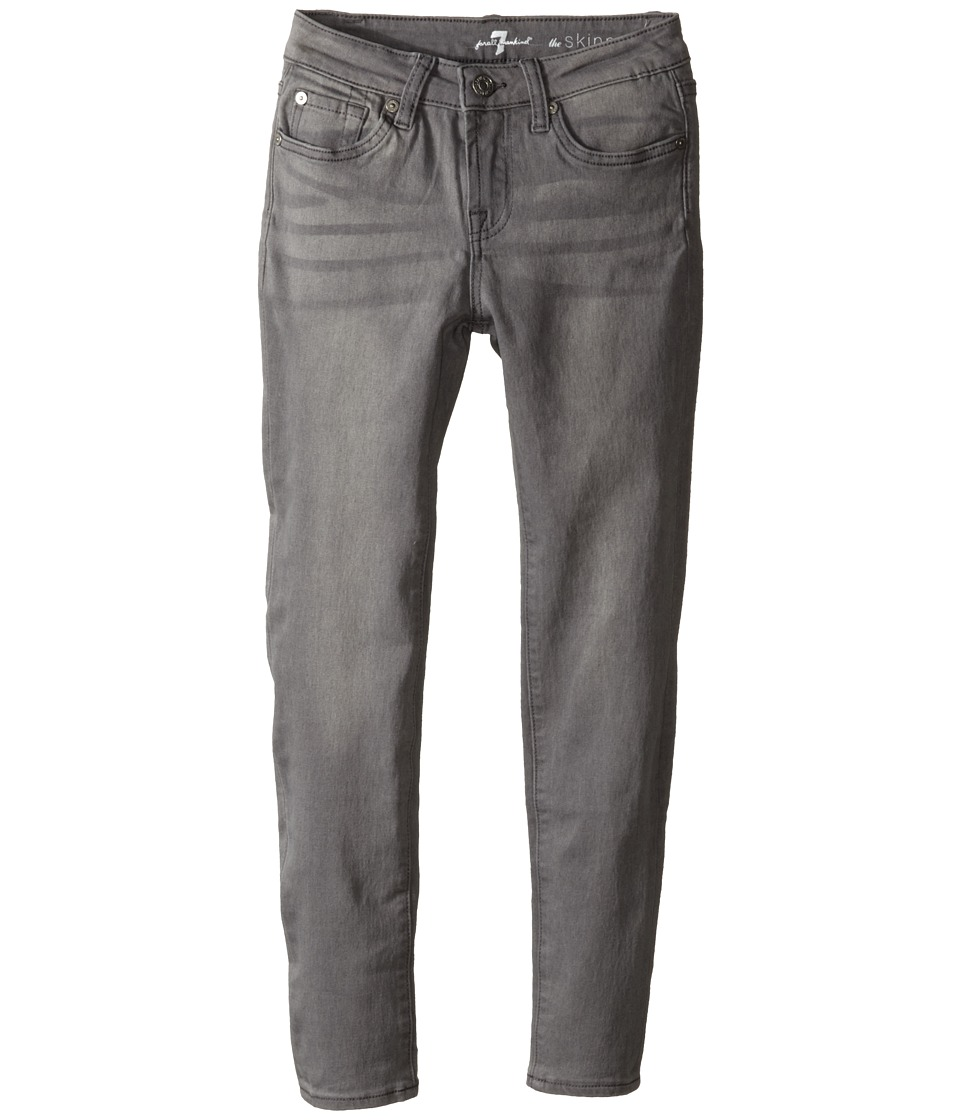 7 For All Mankind Kids - The Skinny Five-Pocket Jeans in Sterling Grey (Big Kids) (Sterling Grey) Girl's Jeans