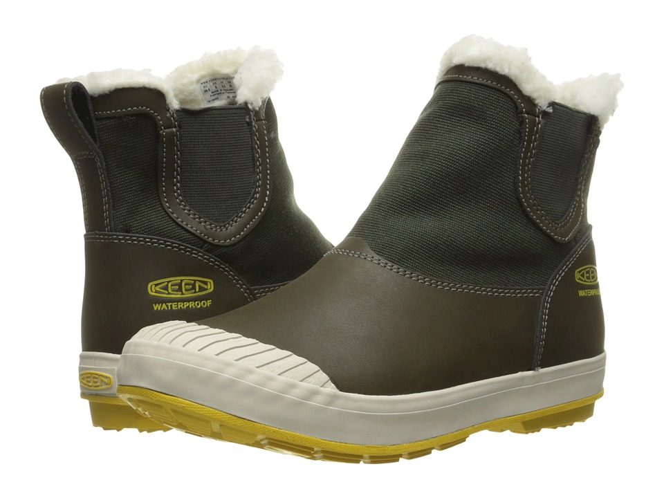 Keen - Elsa Chelsea Waterproof (Beluga) Women's Waterproof Boots