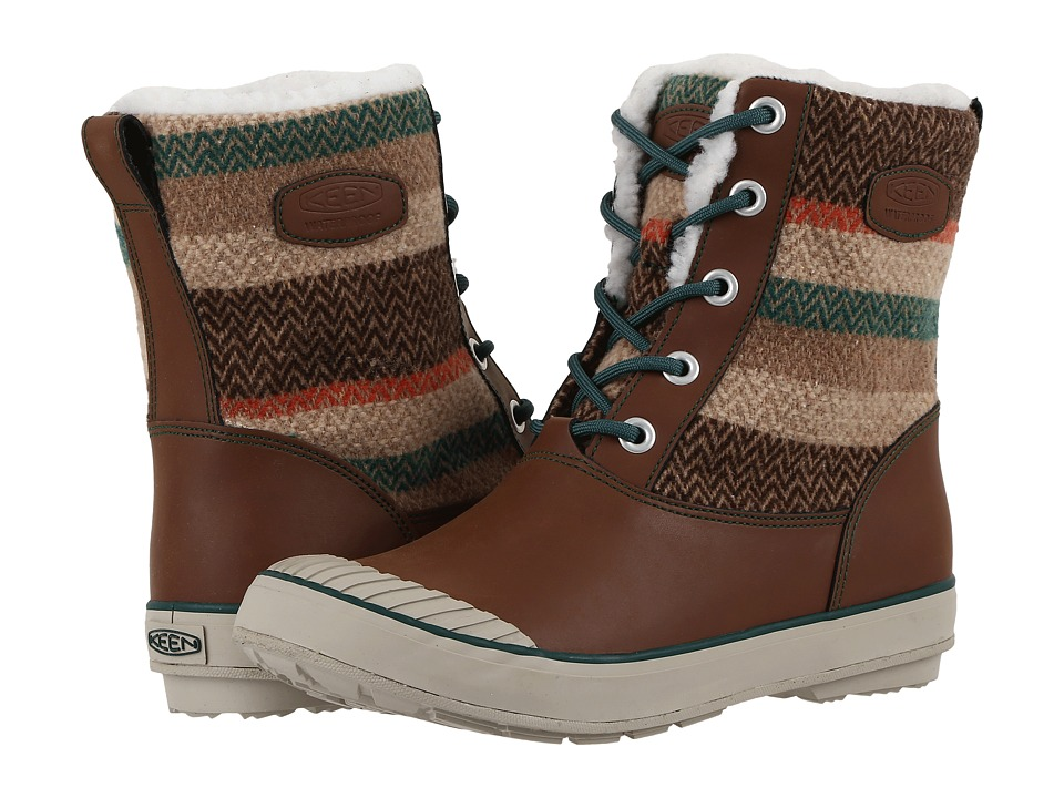 Keen - Elsa Boot WP (Wool Striped) Women's Waterproof Boots