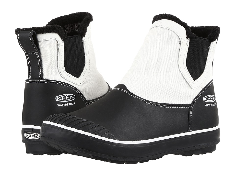 Keen - Elsa Chelsea Waterproof (Star White/Black/Chocolate/Bronze) Women's Waterproof Boots
