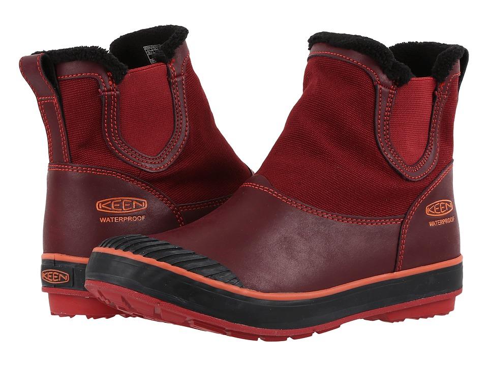 Keen - Elsa Chelsea Waterproof (Zinfandel) Women's Waterproof Boots