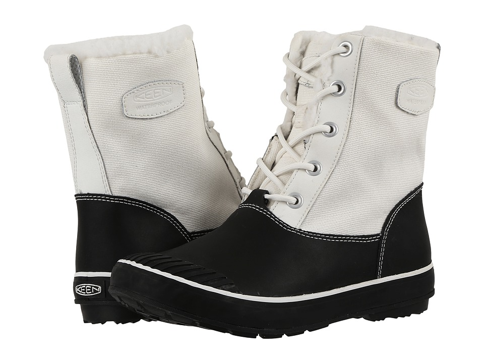 Keen - Elsa Boot WP (Star White/Black) Women's Waterproof Boots