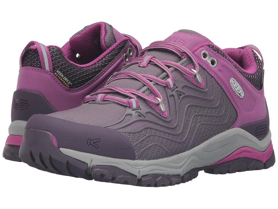 Keen - Aphlex Waterproof (Plum/Shark) Women's Waterproof Boots