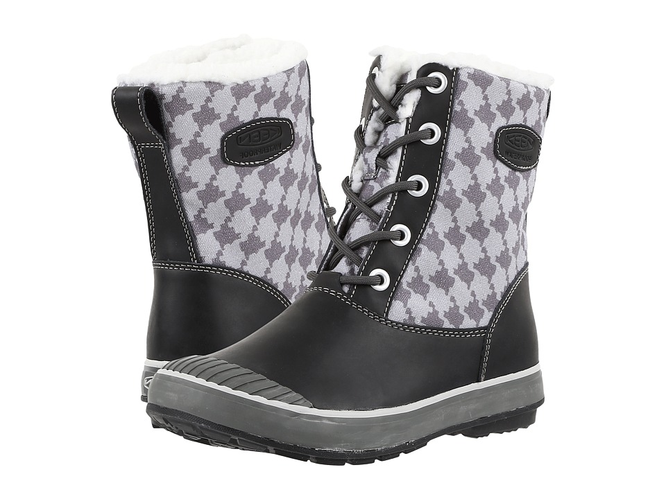 Keen - Elsa Boot WP (Houndstooth) Women's Waterproof Boots