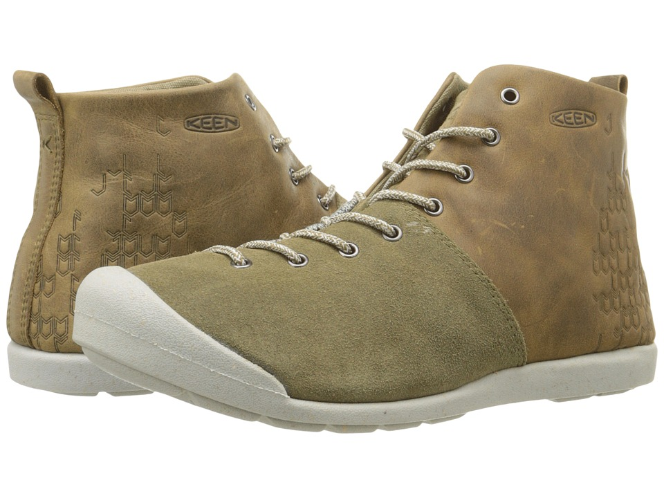 Keen East Side Bootie (Pale Olive/Gargoyle) Women