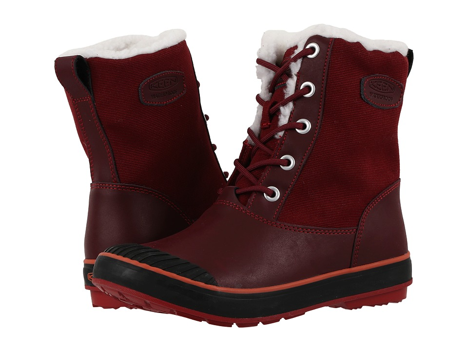 Keen Elsa Boot WP (Zinfandel) Women