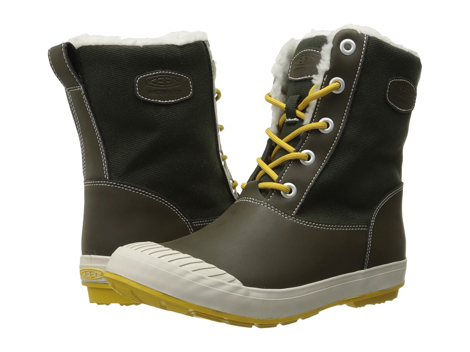 Keen - Elsa Boot WP (Beluga) Women's Waterproof Boots