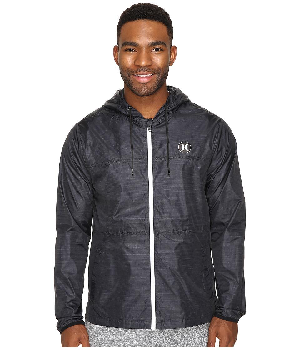 Hurley - Blocked Runner 2.0 Jacket (Black) Men's Coat