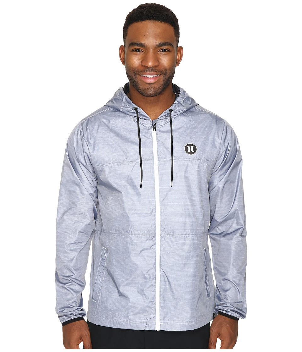 Hurley - Blocked Runner 2.0 Jacket (Pure Platinum) Men's Coat