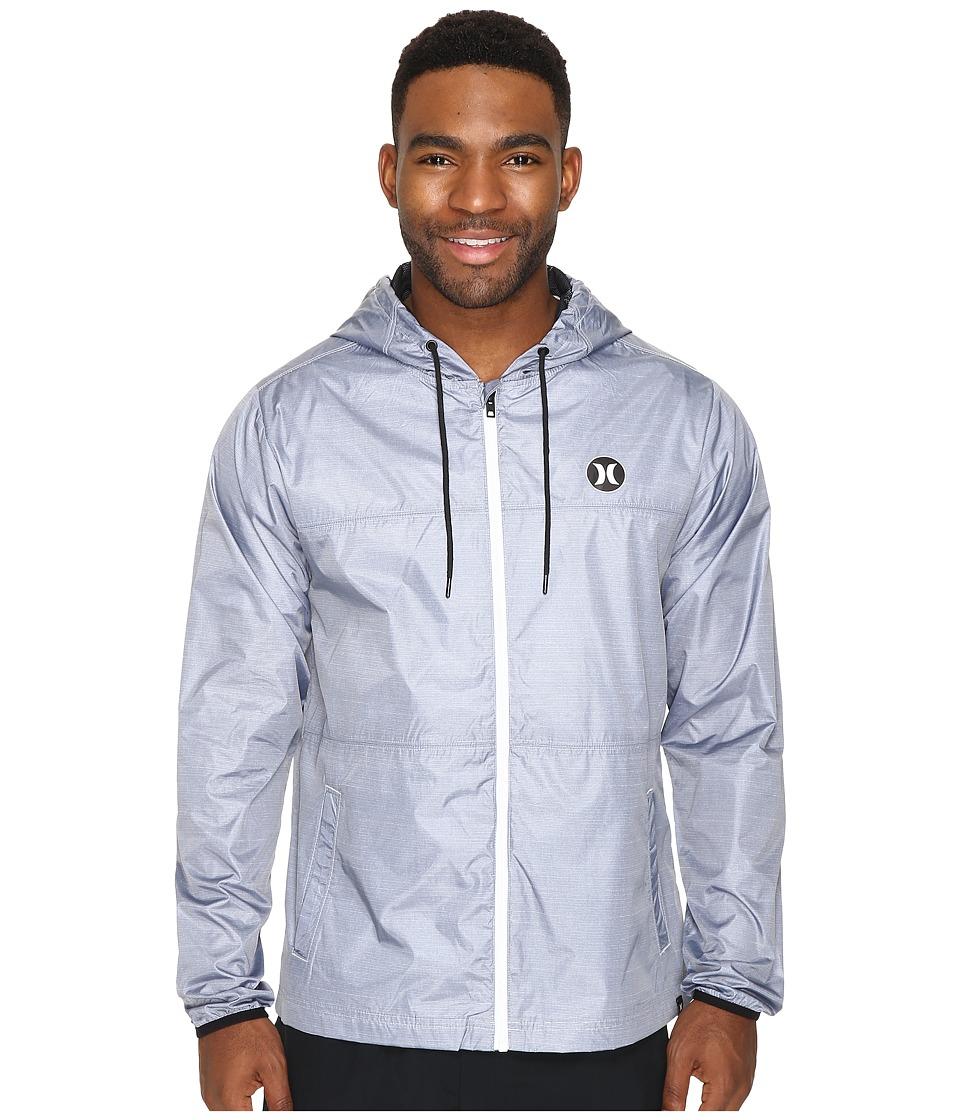 Hurley - Blocked Runner 2.0 Jacket (Pure Platinum) Men's Coat