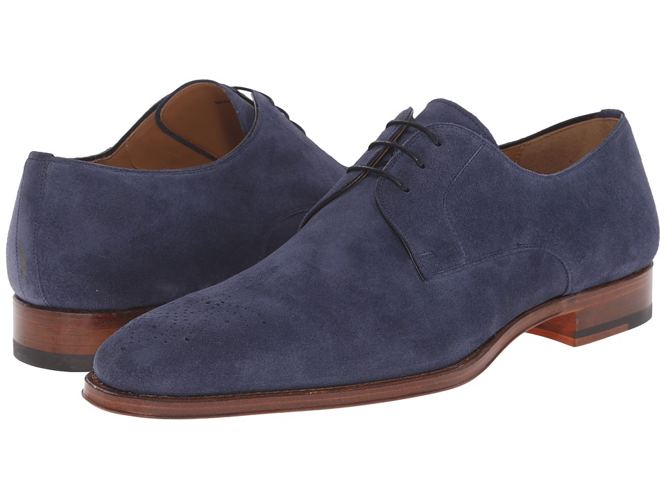Magnanni - Gerardo (Navy) Men's Lace up casual Shoes