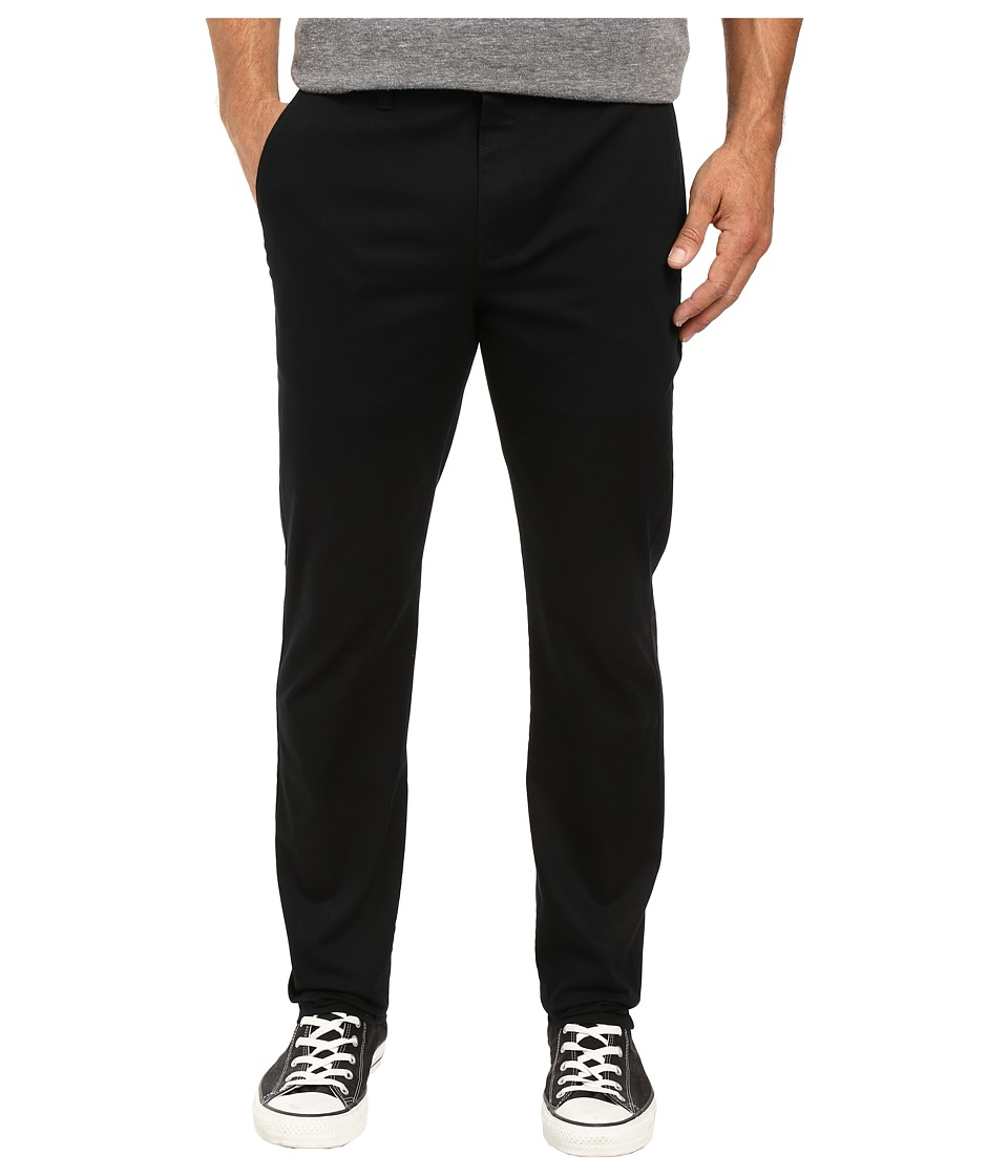 Hurley - One Only Chino Pants (Black) Men's Casual Pants