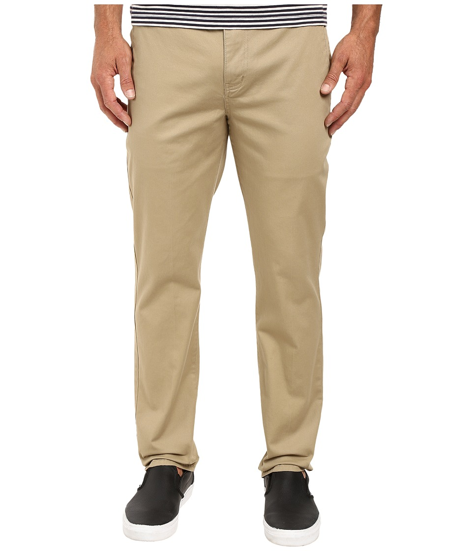 Hurley - One Only Chino Pants (Khaki) Men's Casual Pants