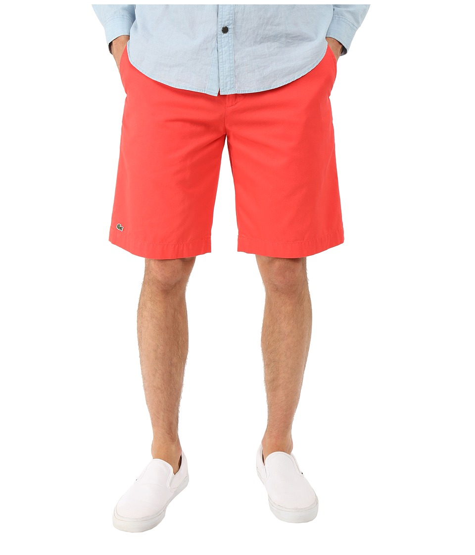 Lacoste - Classic Fit Bermuda Short 10 (Sandalwood) Men's Shorts