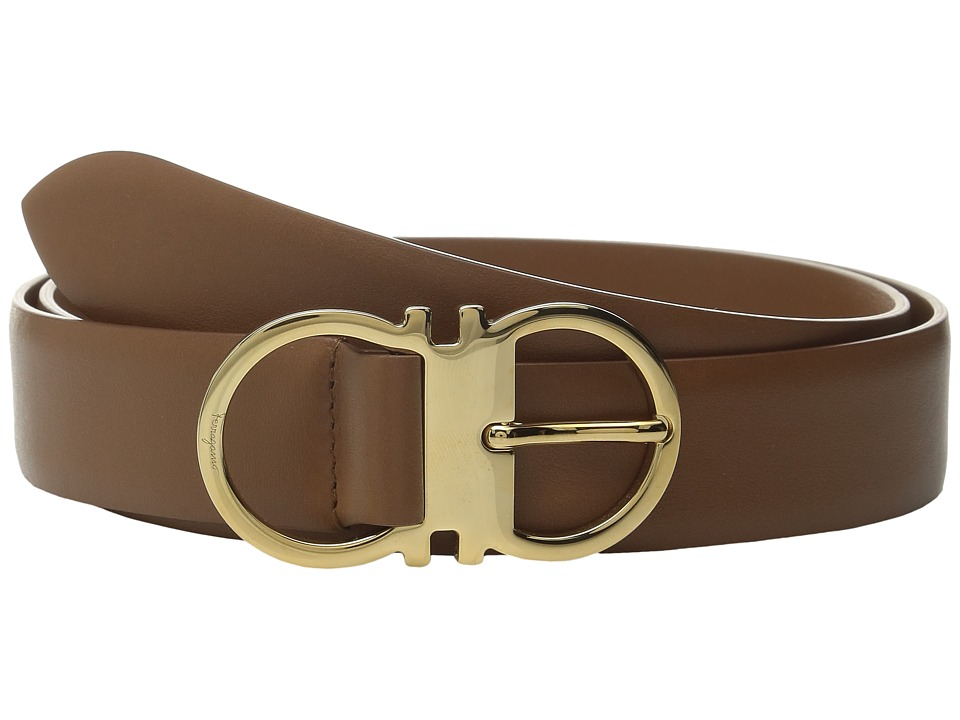 Salvatore Ferragamo - 23B355 (Ecorce) Women's Belts