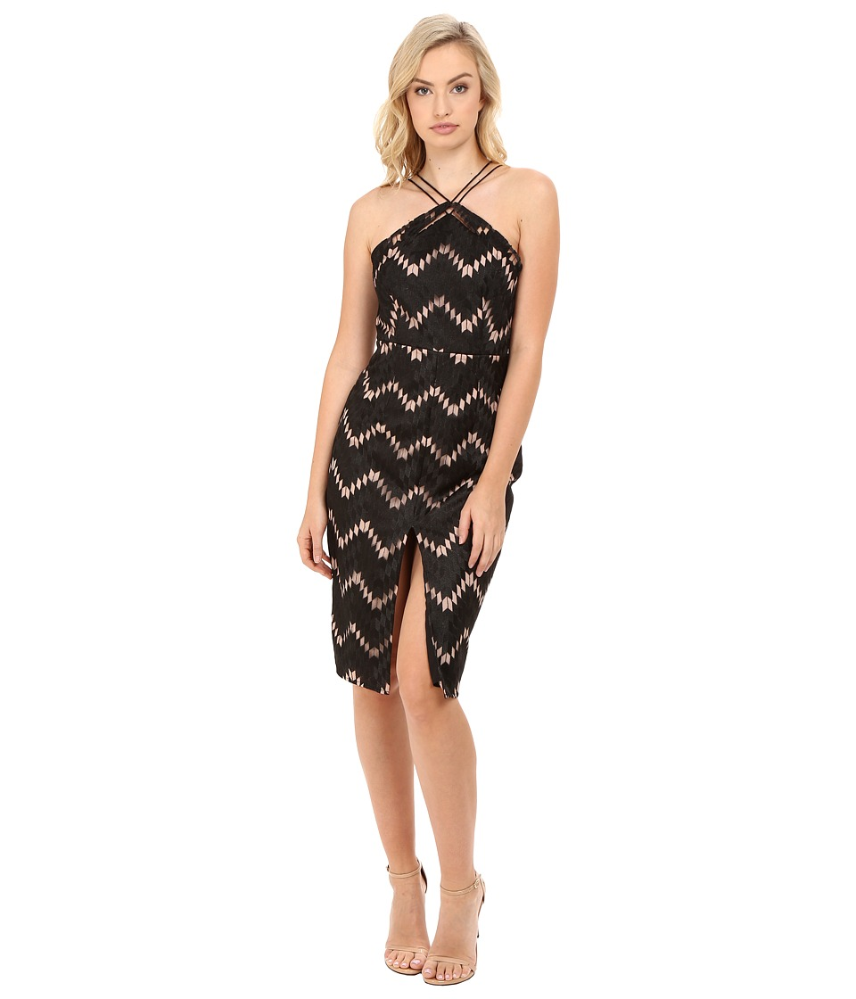 StyleStalker - Miranda Midi Dress (Noir) Women's Dress
