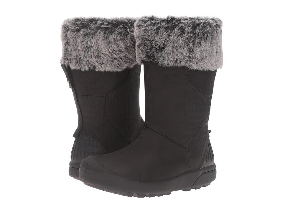 Keen - Fremont Zip Waterproof (Black) Women's Waterproof Boots
