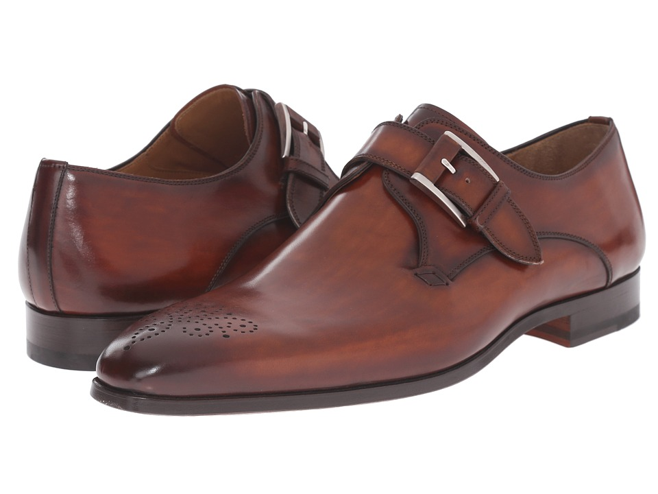 Magnanni - Doran (Cognac) Men's Monkstrap Shoes